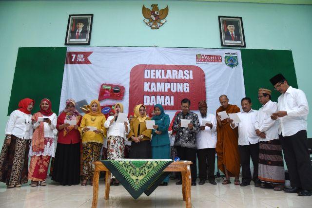 Deklarasi Desa Damai Sidomulyo, Kota Batu, Jawa Timur