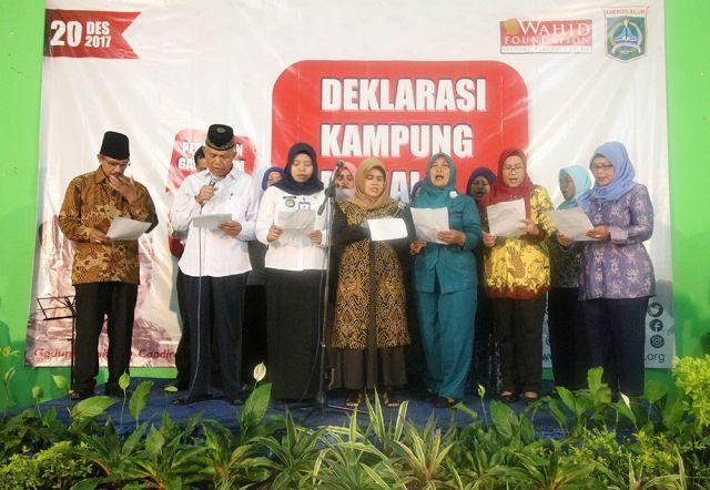 Deklarasi Kelurahan Damai Candirenggo